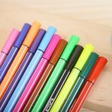 真彩多色水彩笔可水洗儿童绘画笔彩笔文具用品