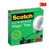 3M思高810磨砂隐形胶带无痕修复胶带手撕胶带写字复印测试胶...
