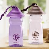 卡西诺随手杯 创意草帽杯 塑料水杯 便携随行杯 学生运动杯子
