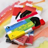 马利牌 12色 18色 24色12ml丙烯颜料 防水纺织手绘...