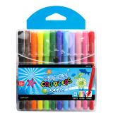 马培德 12色 24色 精灵水彩笔 儿童绘画笔 涂鸦笔