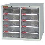 文汇带锁资料柜 A4010-L 金属外壳透明柜桶 配轮耐用收...