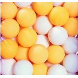 乒乓球 白色 橙色 训练球