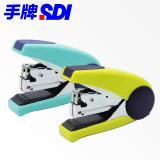 手牌SDI 按键式省力型3号订书机 24/6 省力50%订书...