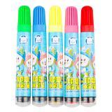 真彩(Truecolor)WM-108真彩酷吖系列小炮筒印章水彩笔蓝色/粉色