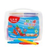 马培德12色24色36色48色旋转蜡笔水溶性儿童彩绘彩棒套装...