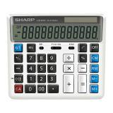 夏普计算器 银行财务会计办公 电脑按键大号计算器 12位数太...
