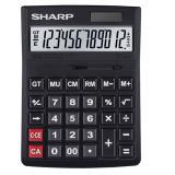夏普/SHARP计算器 办公商务型计算器 黑色 CH-G12...