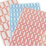 劲威不干胶分类贴纸 优质自粘标签纸粘性强