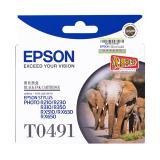 爱普生(EPSON) T0491黑色墨盒R210/R230/...