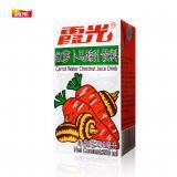 霞光低糖胡萝卜马蹄汁250ml*24盒饮料整箱混合果蔬饮料