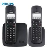 飞利浦数字无线单机固定座机电话 免提通话功能/一拖一 DCT...