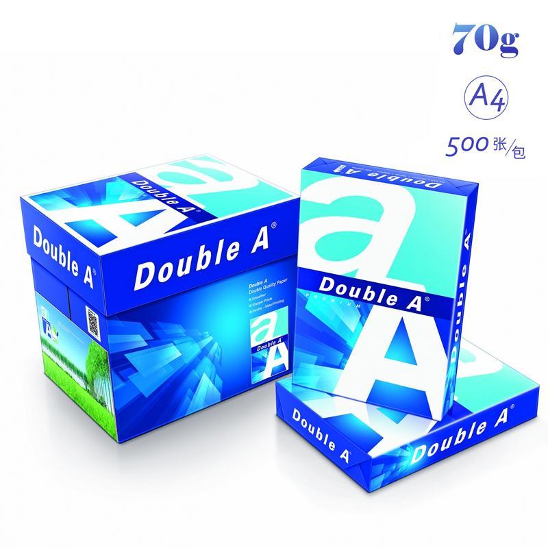 达伯埃DoubleA(Double A)A4/70G 复印纸500张/包 5包/箱
