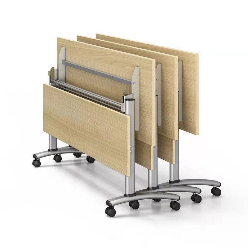 有轮折叠会议桌办公桌
