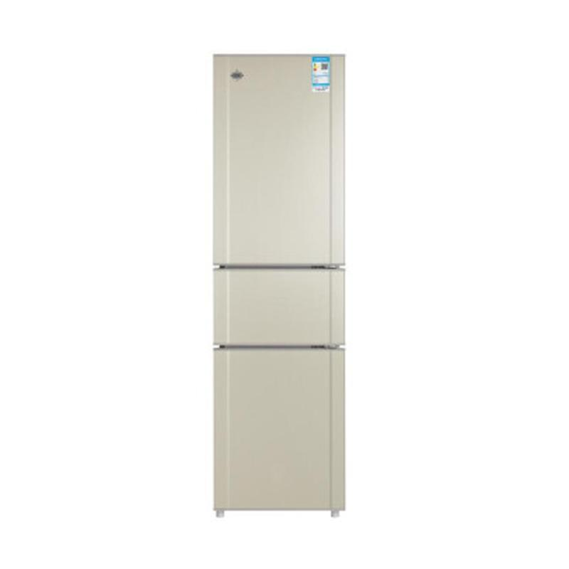 格力(GREE)冰箱晶弘BCD-205TC/ 205升 三开门冰箱三门电冰箱节能智能制冰小型冰箱