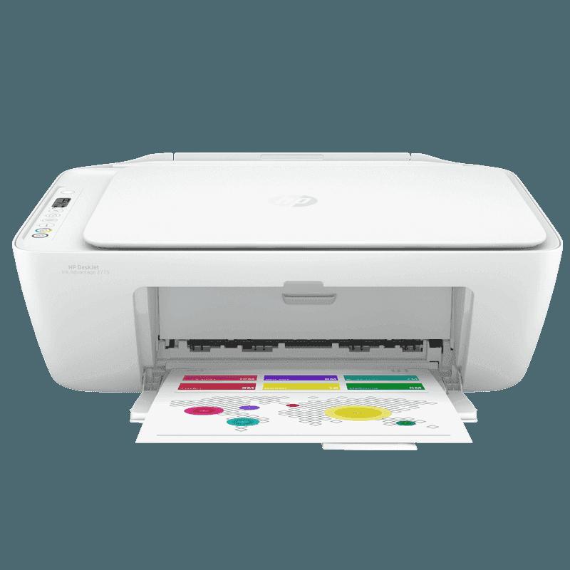 惠普deskjet2776彩色家用无线多功能一体机打印/复印/扫描微信远程打印