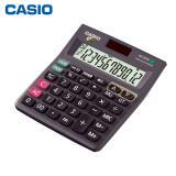 卡西欧 计算器MJ-120TG 太阳能办公计算器 12位数计...