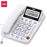 得力(deli)电话机座机 固定电话  翻转屏幕 免电池 7...