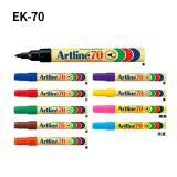 日本旗牌.雅丽(Artline)EK-70油性记号笔 (圆头) 单支装
