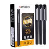 齐心 (COMIX)签字笔大容量中性笔 GP352/1.0mm签字笔 黑色水笔单支装