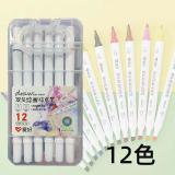 爱好PM513系列12/18/24/36色油性双头绘画马克笔动漫色色彩美术笔彩笔