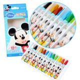 真彩多色油画棒 迪士尼米奇儿童油画棒无毒 迪士尼蜡笔