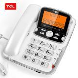 TCL 206电话机座机 有绳电话固定座机免电池免提大屏幕大...
