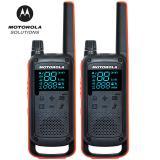 摩托罗拉(Motorola)T82 对讲机 【两只装】商用民...