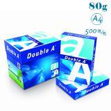 达伯埃DoubleA(Double A)80g/A4 复印纸 500张/包 5包/箱